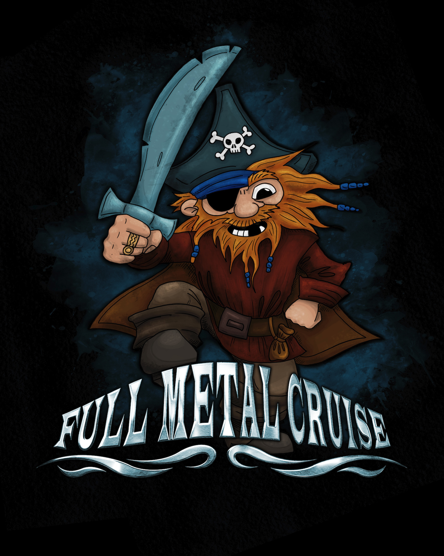 Full Metal Cruise V - T-Shirt Kids